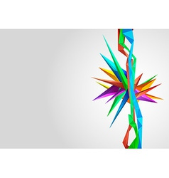 Abstract background template element vector image