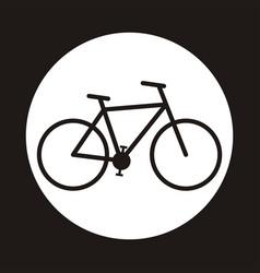 bicycle icon symbol vector image