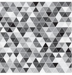Seamless triangle pattern geometric texture vector