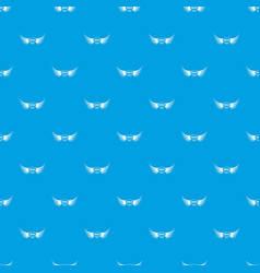 Aquila wing pattern seamless blue vector