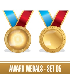 Award Medals Set 05 vector image