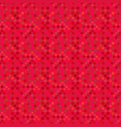 dot pattern background - abstract red graphic vector image