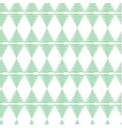 Pastel green scribbled triangle horizontal vector