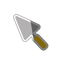 Spatula construction tool vector