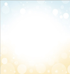 summer background - soft colored blur sea sky vector image