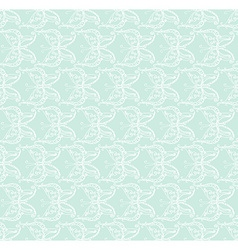White and blue lace vector