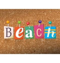 Beach Concept vector