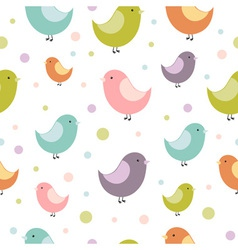 birdies seamless vector image
