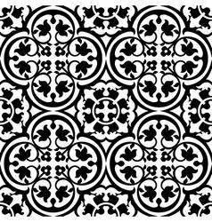 Elegant black and white pattern vector