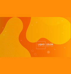 fluid shapes composition for web vector image