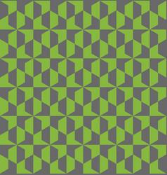 geometric grid seamless pattern design vector image