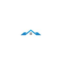 house rorealty company logo vector image