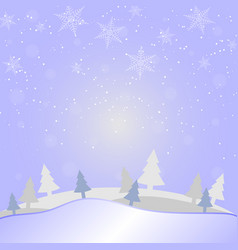 merry christmas and new year on holidays vector image