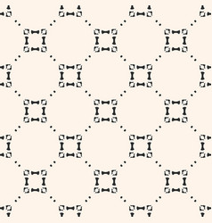 Ornamental grid seamless pattern subtle vector