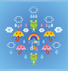 Rainy day vector