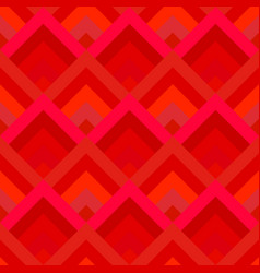 red abstract diagonal shape tile mosaic pattern vector image
