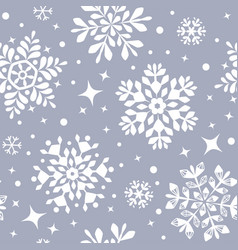 snowflakes background 2 vector image
