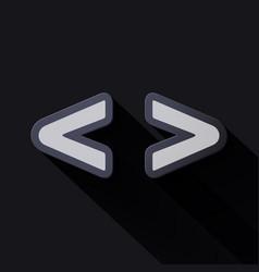 Volume icons symbol brackets vector