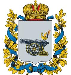 Smolensk Gubernia vector image vector image