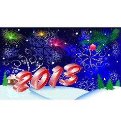 christmas 2013 vector image vector image