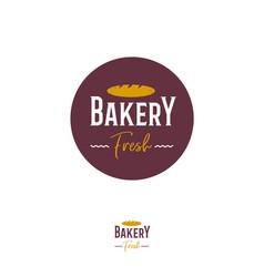 logo bakery vector image vector image