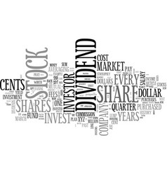 when to invest in the stock market text word vector image