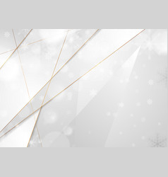 abstract concept winter christmas background vector image