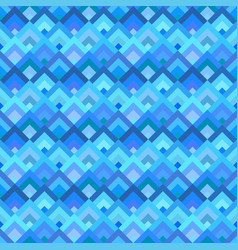 blue abstract seamless diagonal shape pattern vector image