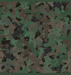 camouflage pattern background modern clothing vector image