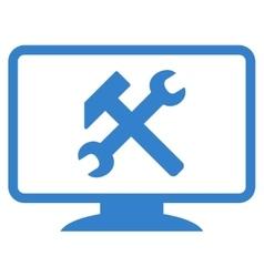 Desktop Settings Icon vector