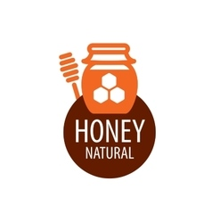honey logo vector image