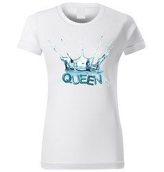 t-shirt design with water splash vector image