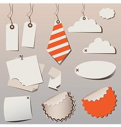 frame orange vector image vector image