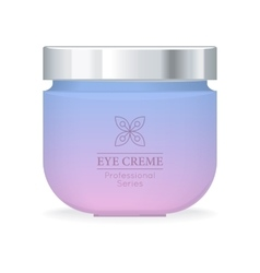 Eye Cream Professional Series vector