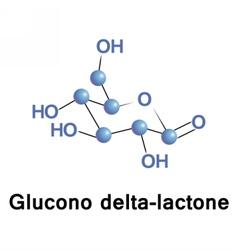 Glucono delta lactone vector