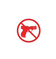 Gun symbol templates vector
