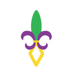 Mardi gras carnival icon image vector