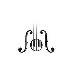 Piano instrument musical logo designs inspiration vector