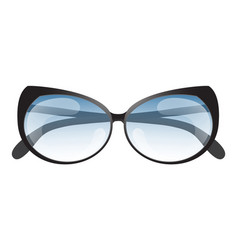 Summer sun protection sunglasses realistic icon vector