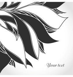 Black and white tattoo pattern vector image vector image