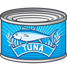 Tuna Can vector image vector image