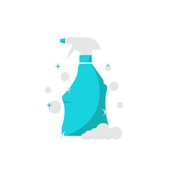 cleaning spray vector image