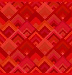 red seamless diagonal shape pattern - mosaic tile vector image