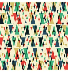 seamless geometric pattern on paper texture vector image