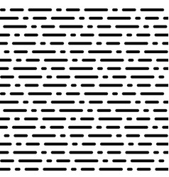 Seamless pattern horizontal rounded lines vector