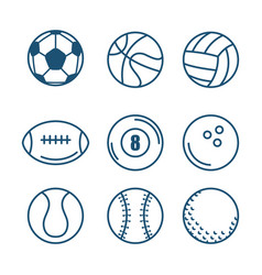 sports related design vector image