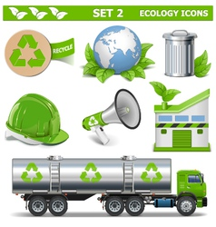 Ecology Icons Set 2 vector