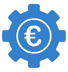 Euro Development Icon vector