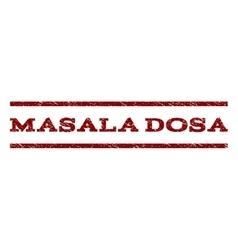 Masala Dosa Watermark Stamp vector