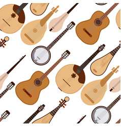 Stringed dreamed musical instruments classical vector